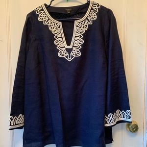 Talbots PERFECT condition tunic top 1X
